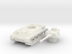 Panzer IV K scale 1/87 in White Natural Versatile Plastic