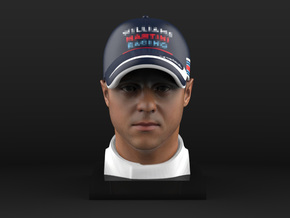 Felipe 1/8 Head Figure in Full Color Sandstone