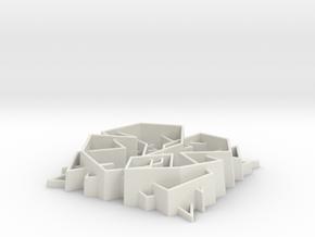 Knight V56t9 in White Natural Versatile Plastic