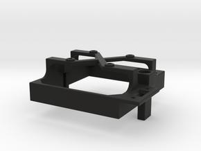 Mamba Monster X fan mount for 30 mm fan switch b in Black Premium Versatile Plastic