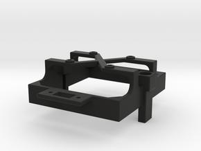 Mamba Monster X fan mount for 30 mm fan switch c in Black Premium Versatile Plastic