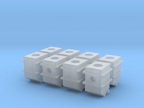 119 tender journal boxes in Smooth Fine Detail Plastic