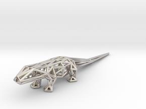 Lizard in Platinum