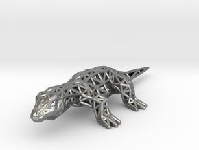 Nile Monitor (adult) in Natural Silver
