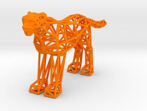 Cheetah (adult) in Orange Processed Versatile Plastic