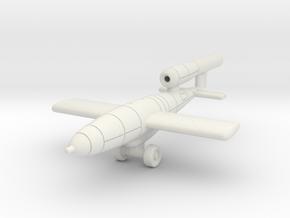 (1:144) V1 Deichselschlepp-1 in White Natural Versatile Plastic
