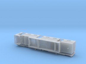 HO 1/87 Horsebox 56' Semi 03 in Smooth Fine Detail Plastic