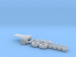H0 1:87 Zubehör für MAN HLF GrKa 18t in Smooth Fine Detail Plastic