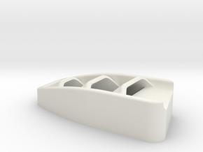 Hood Vent Driver for Vanquish Products Ripper in White Premium Versatile Plastic