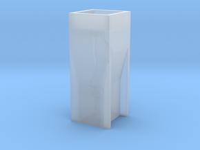 Cuvette pendant - Erlenmeyer inside in Smooth Fine Detail Plastic