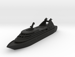 Miniature Seabourn Legend Ship (Star Legend) -10cm in Black Premium Versatile Plastic