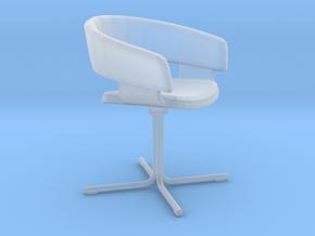 Miniature Mollie 681 Chair - Allermuir  in Smooth Fine Detail Plastic: 1:12
