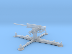 1/72 IJA Type 4 75mm Anti-aircraft Gun in Smooth Fine Detail Plastic