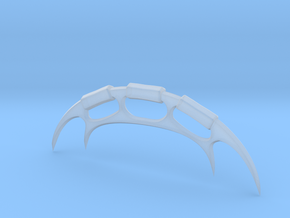 Heroic Scale Miniature Bat'leth in Smooth Fine Detail Plastic