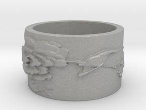 Hummingbird v2 Ring  in Aluminum: 4 / 46.5
