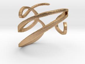 Filigree  Ring  in Natural Bronze: 4 / 46.5