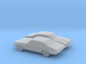 1/160 2X 1968-72 Pontiac Le Mans Sedan in Smooth Fine Detail Plastic