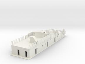 1/100 DKMGraf ZeppelinSuperstructure1 in White Natural Versatile Plastic