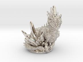 Crystal Dragon 54mm in Platinum