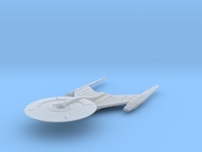 """Federation USS Discovery V4  3"""" long in Smooth Fine Detail Plastic"""