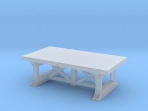Miniature Preston Coffee Table - Gramercy Home in Smooth Fine Detail Plastic: 1:12