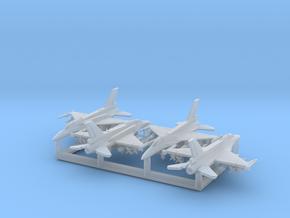 """F-16D """"Barak"""" & I """"Sufa"""" w/Gear x4 (FUD) in Smooth Fine Detail Plastic: 1:400"""