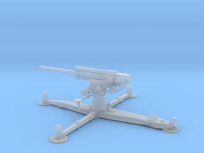 1/87 IJA Type 4 75mm Anti-aircraft Gun in Smooth Fine Detail Plastic