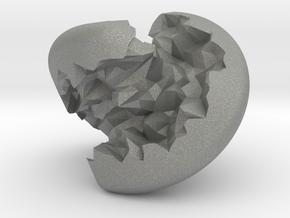 Geode Sphericon in Gray Professional Plastic