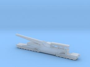 381/40 Italian railway artillery ww1 1/200 in Smooth Fine Detail Plastic