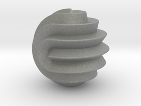 16 Point Sphericon in Gray Professional Plastic
