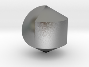 Hexasphericon Solid & True in Natural Silver