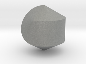 Hexasphericon Solid & True in Gray Professional Plastic