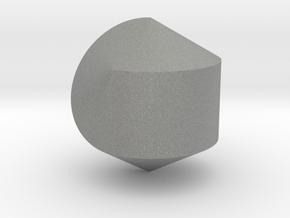 Hexasphericon Solid & True in Gray Professional Plastic