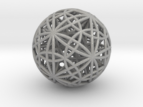 "Sphere of Sacred Union 2.5"" in Aluminum"