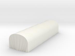 FOURGON ORDINAIRE 3  in White Natural Versatile Plastic