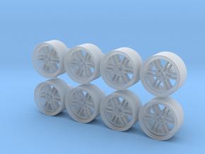 Enkei RPF1 10x5mm 1/43 Scale Wheels in Smoothest Fine Detail Plastic