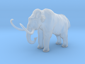 S Scale Woolly Mammoth in Smooth Fine Detail Plastic
