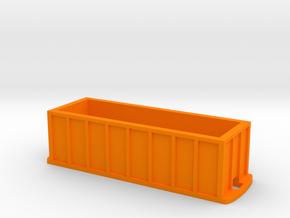 Ortner Aggregate Car in Orange Processed Versatile Plastic