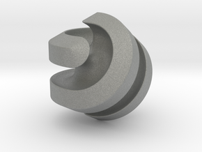 Hexasphericon Channels in Gray Professional Plastic