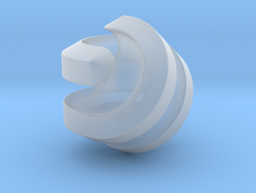 Hexasphericon Channels in Smooth Fine Detail Plastic