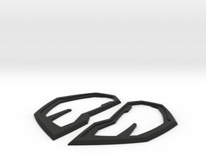 PS4 Spider-man Velocity Lenses/Frames in Black Natural Versatile Plastic