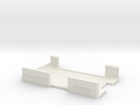 FS5 Clip On Screen Protector V3 in White Natural Versatile Plastic