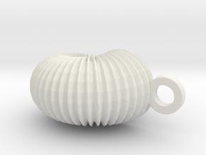 small_shell in White Natural Versatile Plastic