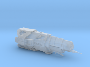 UNSC Halcyon Class Cruiser high detai small V2 in Smooth Fine Detail Plastic