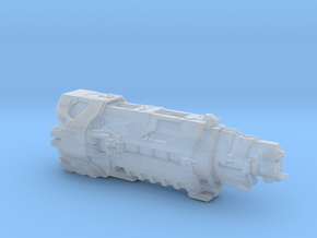 UNSC Pillar Of Autumn high detail small V2 in Smooth Fine Detail Plastic