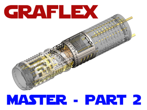 Graflex Master - Part 2 - Shell1 in White Natural Versatile Plastic