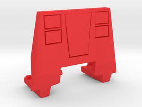 Red Lambo Chest in Red Processed Versatile Plastic