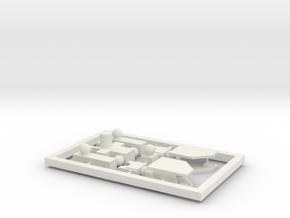 Powermaster - Blank in White Natural Versatile Plastic