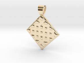 Vorothnic [pendant] in 14k Gold Plated Brass