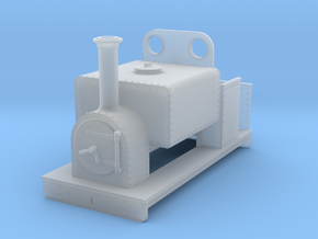 OO freelance 0-4-0T box tank loco type 2 in Smooth Fine Detail Plastic